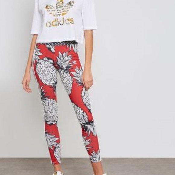 NWT Adidas Originals Farm Pineapple Pants NWT